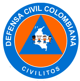 logotipo para los Civilitos de la Defensa Civil Colombiana